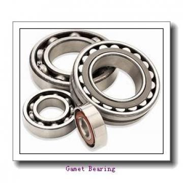 38,1 mm x 76,2 mm x 26 mm  38,1 mm x 76,2 mm x 26 mm  Gamet 101038X/101076X tapered roller bearings
