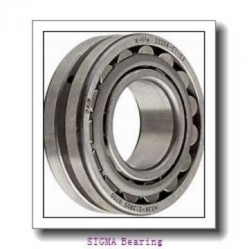 90 mm x 190 mm x 43 mm  90 mm x 190 mm x 43 mm  SIGMA QJ 318 N2 angular contact ball bearings