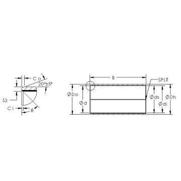 AST AST850SM 130100 plain bearings