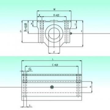 NBS SCW 08-UU linear bearings
