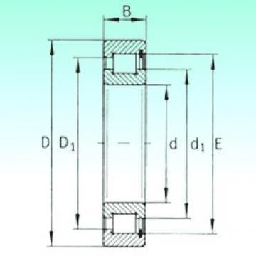 220 mm x 270 mm x 24 mm  220 mm x 270 mm x 24 mm  NBS SL181844 cylindrical roller bearings