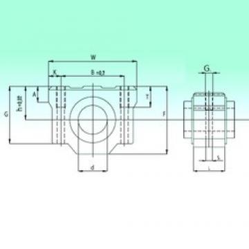 NBS SCV 25-UU linear bearings
