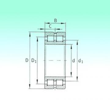 280 mm x 350 mm x 69 mm  280 mm x 350 mm x 69 mm  NBS SL014856 cylindrical roller bearings