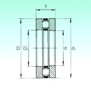 80 mm x 105 mm x 5,75 mm  80 mm x 105 mm x 5,75 mm  NBS 81116TN thrust roller bearings
