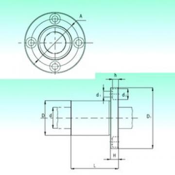 NBS KBF16 linear bearings