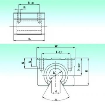 NBS SBR 40-UU linear bearings