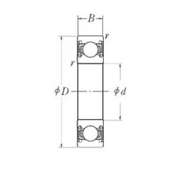 10 mm x 27 mm x 11 mm  10 mm x 27 mm x 11 mm  NSK B10-50T12 deep groove ball bearings