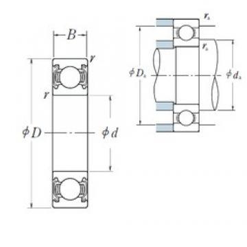 150 mm x 270 mm x 45 mm  150 mm x 270 mm x 45 mm  NSK 6230ZZS deep groove ball bearings