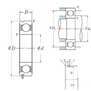 120 mm x 150 mm x 16 mm  120 mm x 150 mm x 16 mm  NSK 6824N deep groove ball bearings