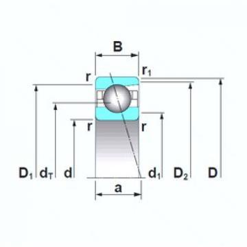 50 mm x 90 mm x 20 mm  50 mm x 90 mm x 20 mm  NSK 7210CTRSU angular contact ball bearings