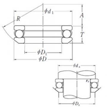 NSK 53334X thrust ball bearings
