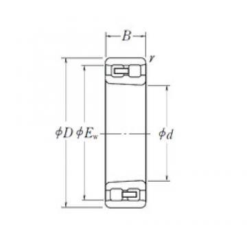 160 mm x 240 mm x 60 mm  160 mm x 240 mm x 60 mm  NSK NN 3032 K cylindrical roller bearings