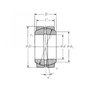 120 mm x 180 mm x 85 mm  120 mm x 180 mm x 85 mm  NSK 120FSF180 plain bearings