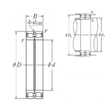 110 mm x 150 mm x 40 mm  110 mm x 150 mm x 40 mm  NSK RS-4922E4 cylindrical roller bearings