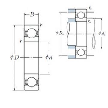 95 mm x 120 mm x 13 mm  95 mm x 120 mm x 13 mm  NSK 6819 deep groove ball bearings
