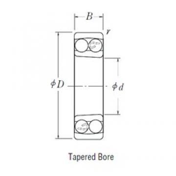 80 mm x 140 mm x 26 mm  80 mm x 140 mm x 26 mm  NSK 1216 K self aligning ball bearings