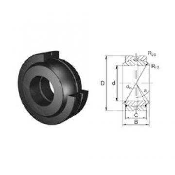 30 mm x 47 mm x 22 mm  30 mm x 47 mm x 22 mm  ZEN GE30ES plain bearings
