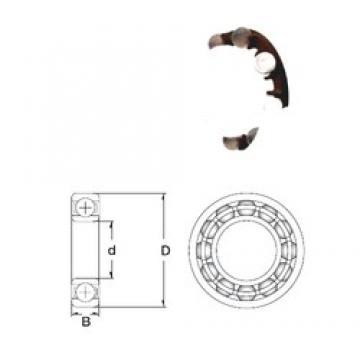 6 mm x 19 mm x 6 mm  6 mm x 19 mm x 6 mm  ZEN P626-GB deep groove ball bearings