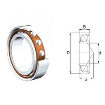 50 mm x 90 mm x 20 mm  50 mm x 90 mm x 20 mm  ZEN 7210B angular contact ball bearings