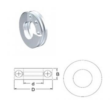 ZEN S51312 thrust ball bearings
