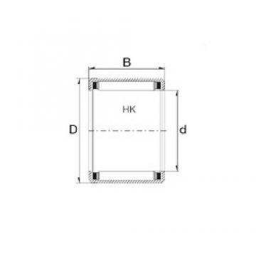 ZEN HK0912 needle roller bearings