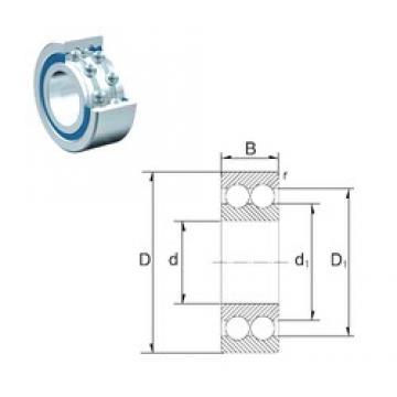 45 mm x 85 mm x 23 mm  45 mm x 85 mm x 23 mm  ZEN S4209 deep groove ball bearings