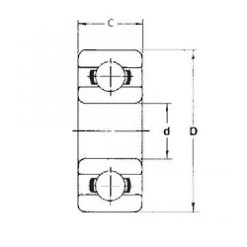5 mm x 9 mm x 2,5 mm  5 mm x 9 mm x 2,5 mm  FBJ MR95 deep groove ball bearings