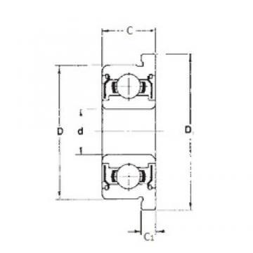 3 mm x 7 mm x 3 mm  3 mm x 7 mm x 3 mm  FBJ F683ZZ deep groove ball bearings