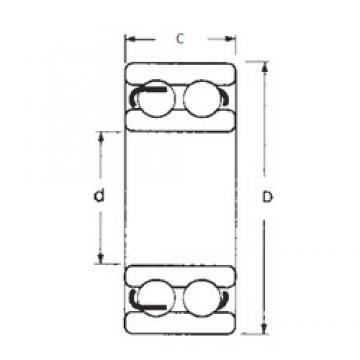 50 mm x 110 mm x 40 mm  50 mm x 110 mm x 40 mm  FBJ 4310-2RS deep groove ball bearings