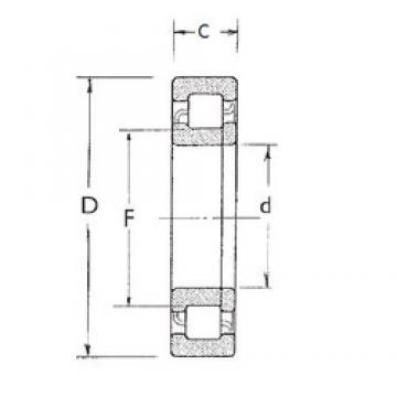 70 mm x 150 mm x 51 mm  70 mm x 150 mm x 51 mm  FBJ NUP2314 cylindrical roller bearings