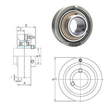 FYH UCC212-38 bearing units