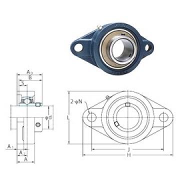 FYH UCFL206-18 bearing units