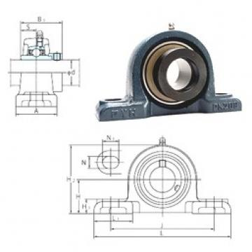 FYH NAPK206-18 bearing units