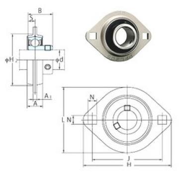 FYH SBPFL206-19 bearing units