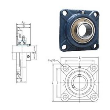 FYH UCFX08 bearing units