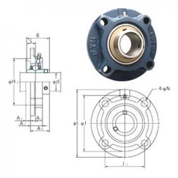 FYH UCFC213-40 bearing units