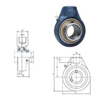 FYH UCHA212 bearing units