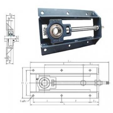 FYH UCTH213-300 bearing units