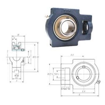 FYH UCTX14-44 bearing units