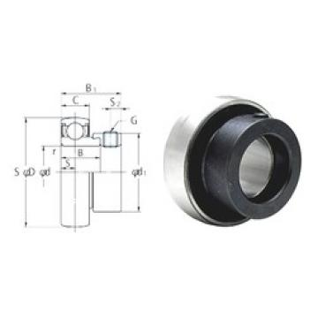 34,925 mm x 72 mm x 23 mm  34,925 mm x 72 mm x 23 mm  FYH SA207-23 deep groove ball bearings