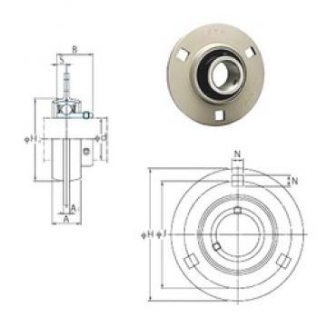 FYH SBPF204-12 bearing units