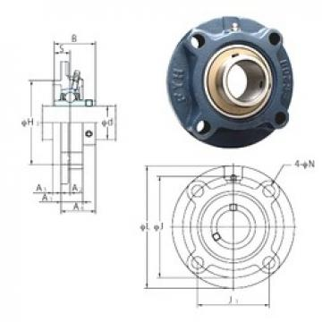 FYH UCFCX17E bearing units