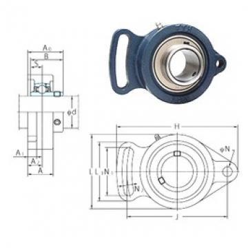 FYH UCFA210-31 bearing units