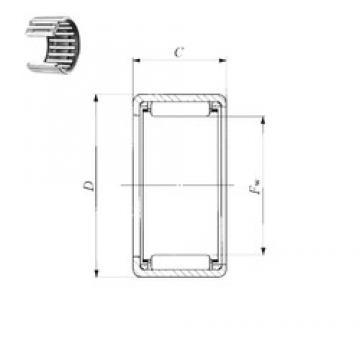 IKO TA 1916 Z needle roller bearings