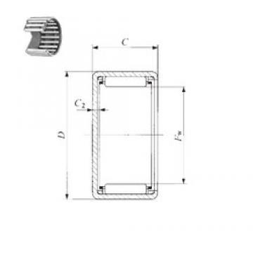 IKO TLAM 2512 needle roller bearings