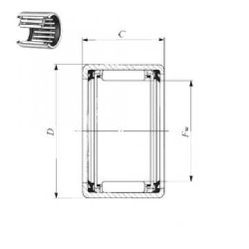 IKO TLA 2216 UU needle roller bearings
