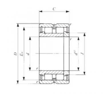 60 mm x 85 mm x 25 mm  60 mm x 85 mm x 25 mm  IKO NAG 4912 cylindrical roller bearings