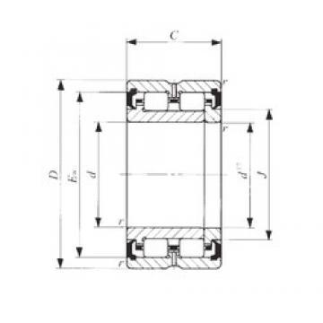 75 mm x 108 mm x 45 mm  75 mm x 108 mm x 45 mm  IKO TRU 7510845UU cylindrical roller bearings