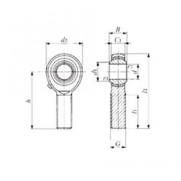 IKO POS 6 plain bearings