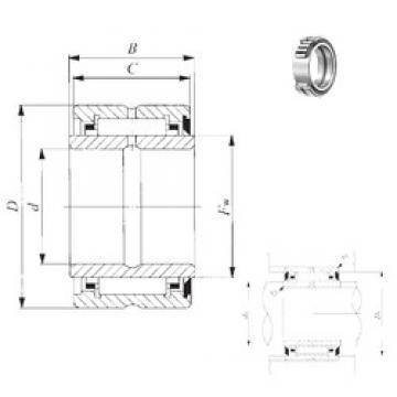 41,275 mm x 65,088 mm x 32 mm  41,275 mm x 65,088 mm x 32 mm  IKO BRI 264120 U needle roller bearings